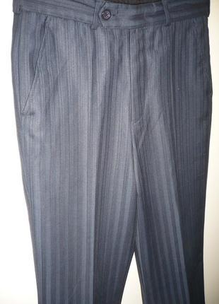 Школьные брюки на мальчика 10-11 лет