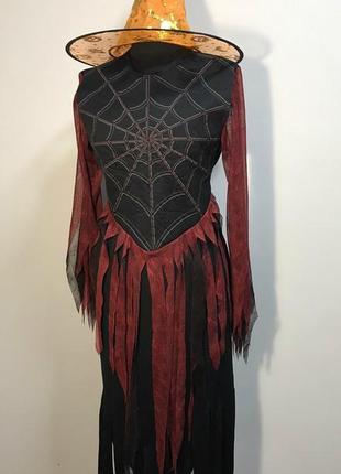 Rubies ведьма паучиха спайдерелла 44-48 костюм со шляпой