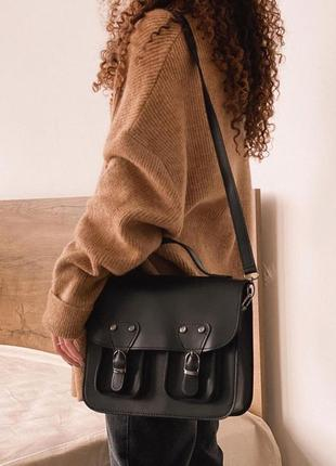 4 цвета! черная сумка клатч повседневная портфель