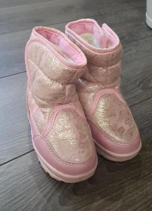 Зимние ботинки tomm, 14 см стелька