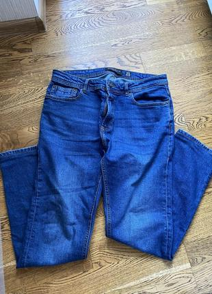 Джинсовые штаны bershka зауженные 42 размер