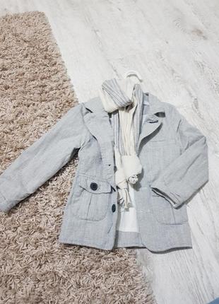 Пиджак с рубашкой
