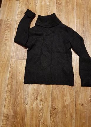Теплый свитер под горло vero moda,размер s,m