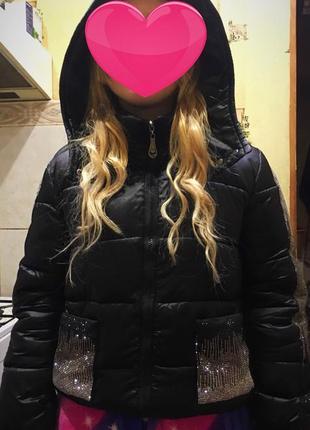Куртка пуффер зима