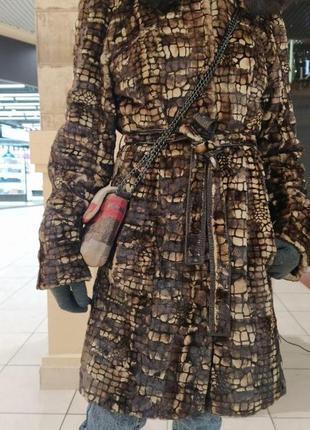 Натуральная норковая шуба/пальто