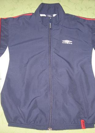 Куртка спортивна umbro 146 см олімпійка бомбер ветровка курточка олимпийка