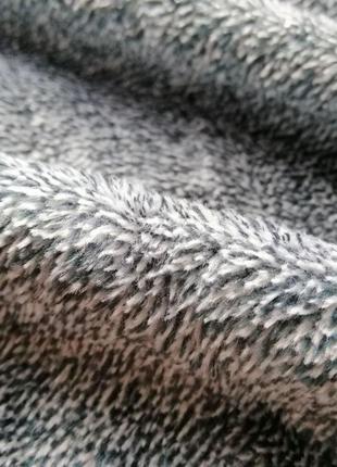 Покрывало двухцветное, качественное и мягкое, 220*240 см, темно-бирюзовое