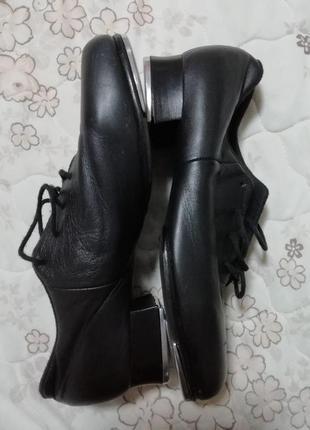 Фирменные кожаные танцевальные туфли bloch р.9м (25.5см)