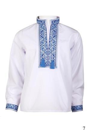 Вышиванка для мальчика вишиванка рубашка хлопчику детская производитель