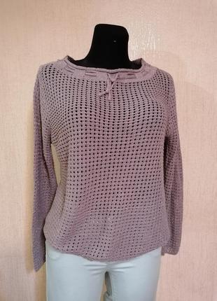Нарядный свитерок свитшот с люрексовой нитью