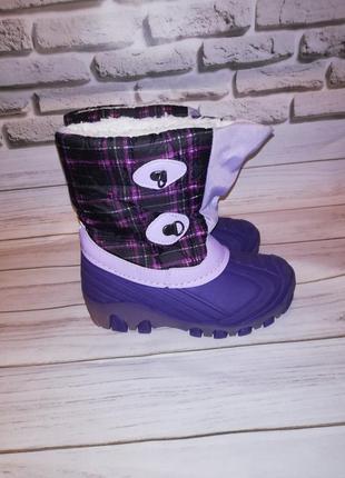 Сноубутсы ботинки зимние