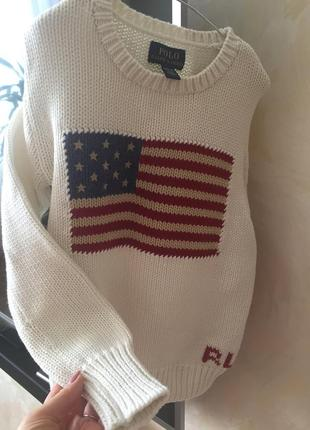 Теплый свитер на 8-10 лет rl
