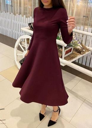Платье женское креп дайвинг
