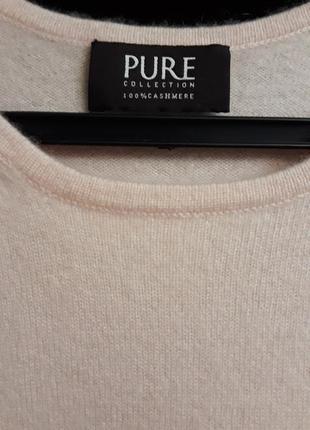 Кашемировая футболка pure collection 12uk