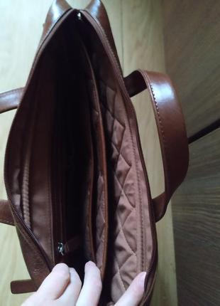 Деловая сумка-портфель для ноутбука и документов carlton