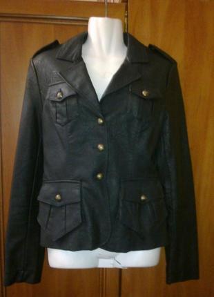 Кожаная куртка р 44 - 46
