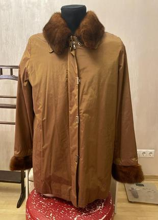 Зимняя куртка на меху