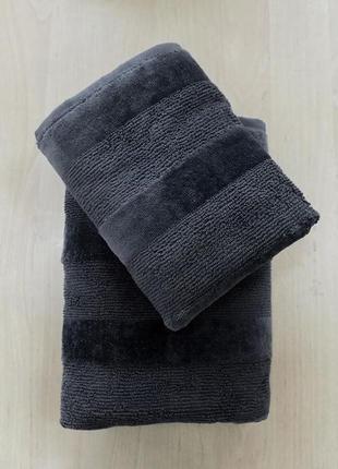 Стильное махровое полотенце