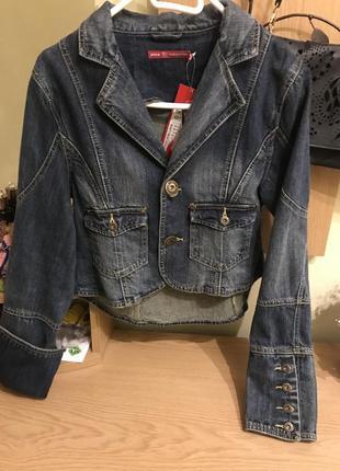 Джинсовая куртка-пилдак