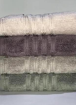 Набор комплект банных махровых полотенец 140х70, турция