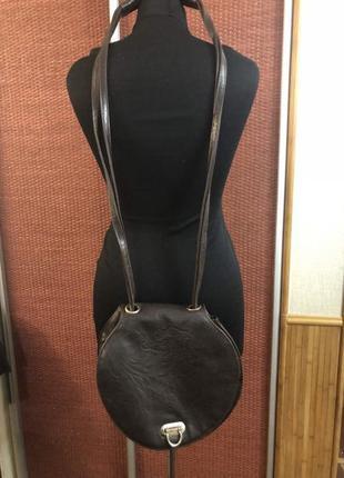 Эксклюзивная круглая сумка через плечо