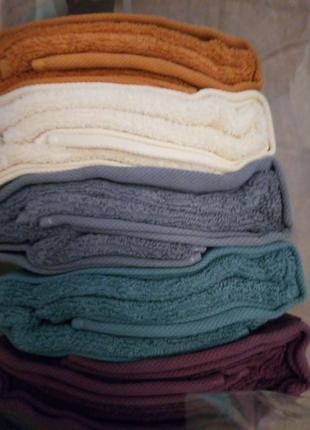 Махровые банные полотенца 140х70, комплект набор
