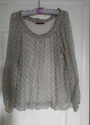 Шелковая блузка femme