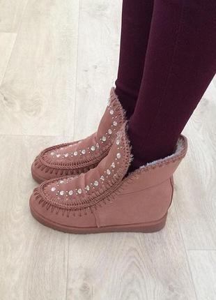 Зимние ботинки-валенки