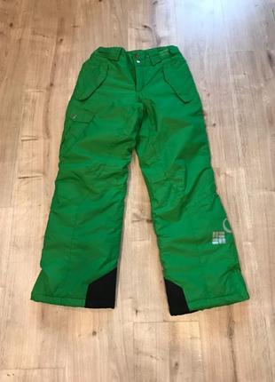 Яркие штаны зимние, лыжные columbia 14-16 лет 152-162-164см