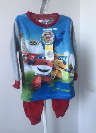 #розвантажуюсь пижама флисовая 94 см 3 года disney