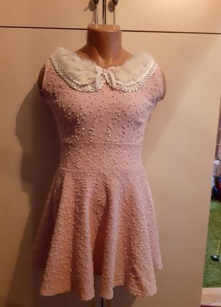 Платье букле house