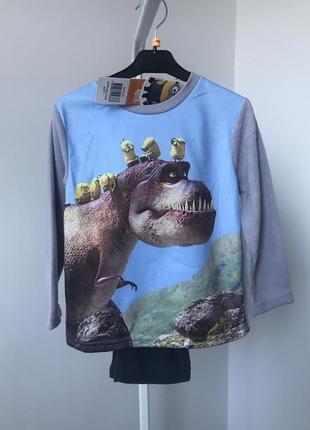 #розвантажуюсь пижама флисовая 4 года 104 см