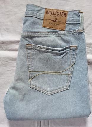 Hollister джинсы slim straight оригинал (w32 l34)