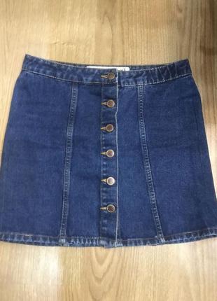 Джынсова юбка