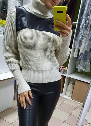 Супер теплый, модный, практичный свитер размер standart