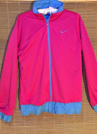 Двухсторонняя куртка-ветровка nike (оригинал)