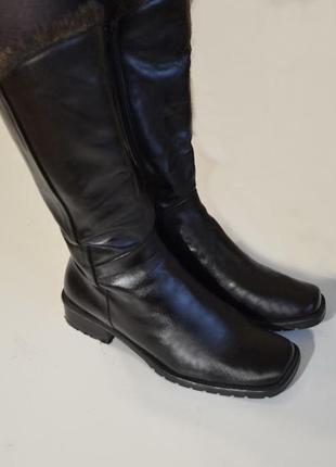 Сапоги зимние , lavorazione artigianale, брендовая обувь, на весну цена снижена до 1.02