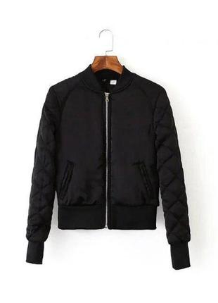 Бомбер куртка женская h&m, размер 40-42