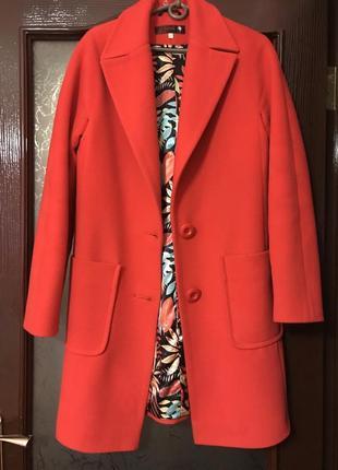 Новое пальто шерсть