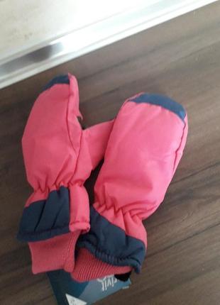 Перчатки, зимние лыжные рукавицы