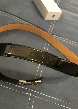 Hermès пояс ремень унисекс франция кожа3 фото