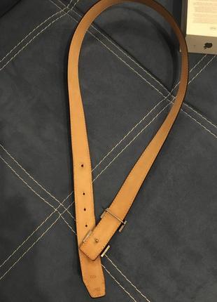 Hermès пояс ремень унисекс франция кожа5 фото