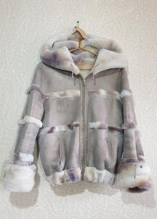 Шуба дубленка куртка овчина