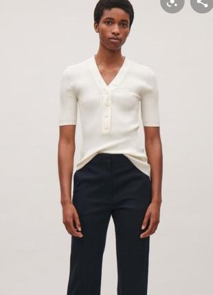 Шелковая блуза cos
