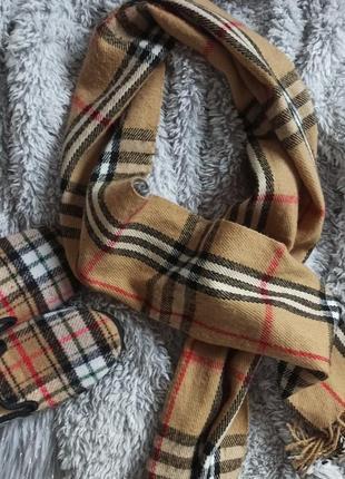 Классный шарфик в стиле burberry