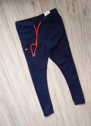 Cropp фирменные штаны джогеры
