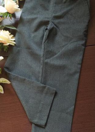 Школьные серые брюки штаны