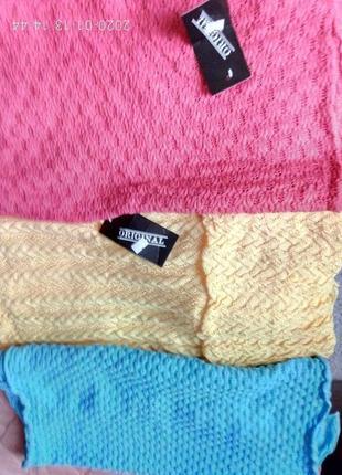 Красивый ажурный шарф новый