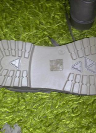 Зимние ботинки в стиле милитари4