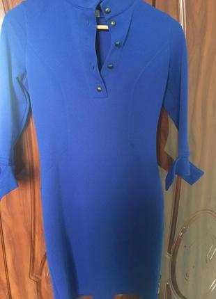 Плаття синє.дуже гарної якості, гарно сідає, стан відмінний